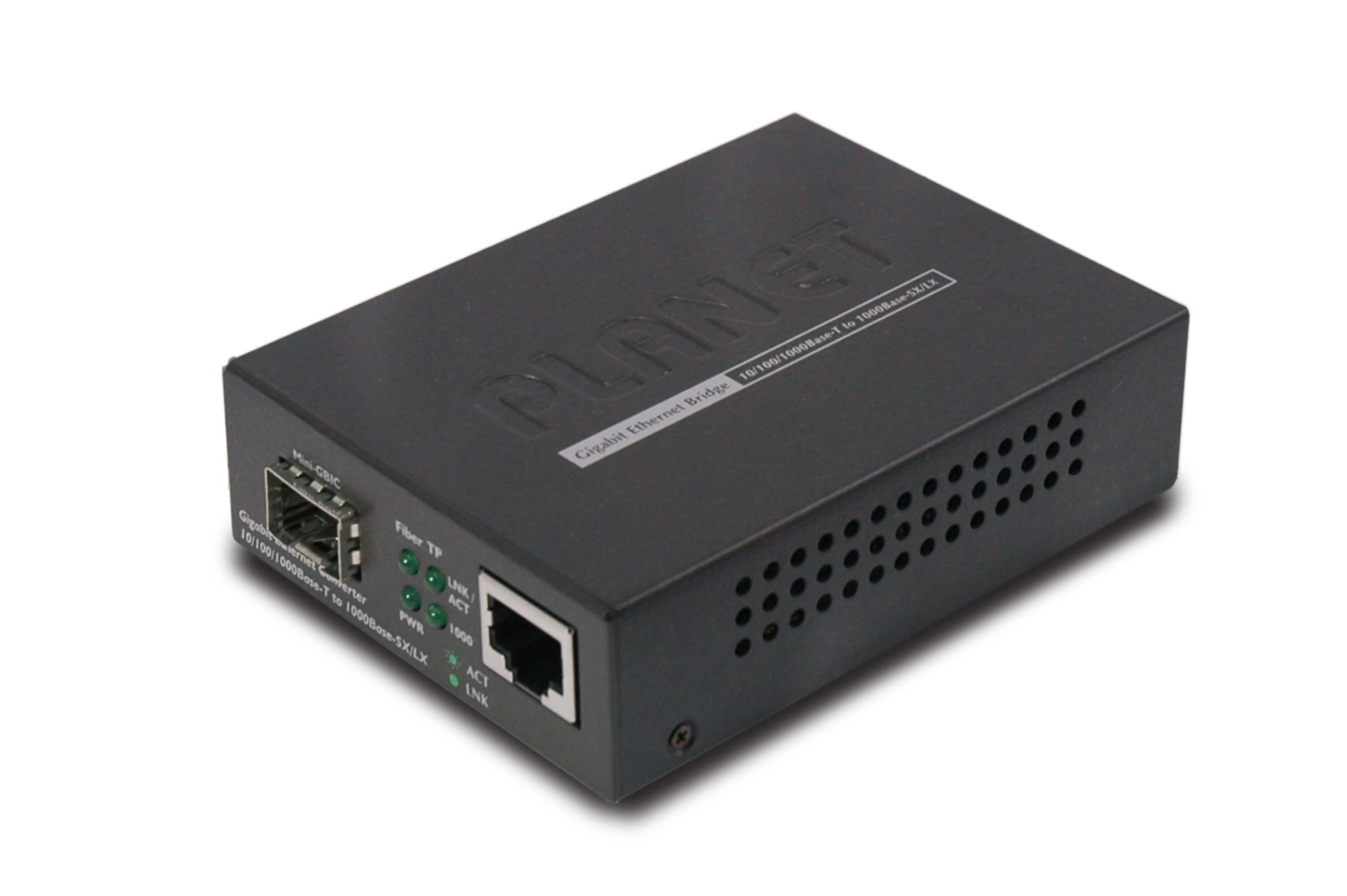 Media konwerter światłowód na skrętkę – Planet GT-805A – prezentacja